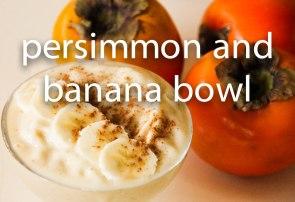 persimmon banana